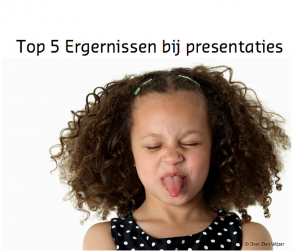 Top 5 ergernissen